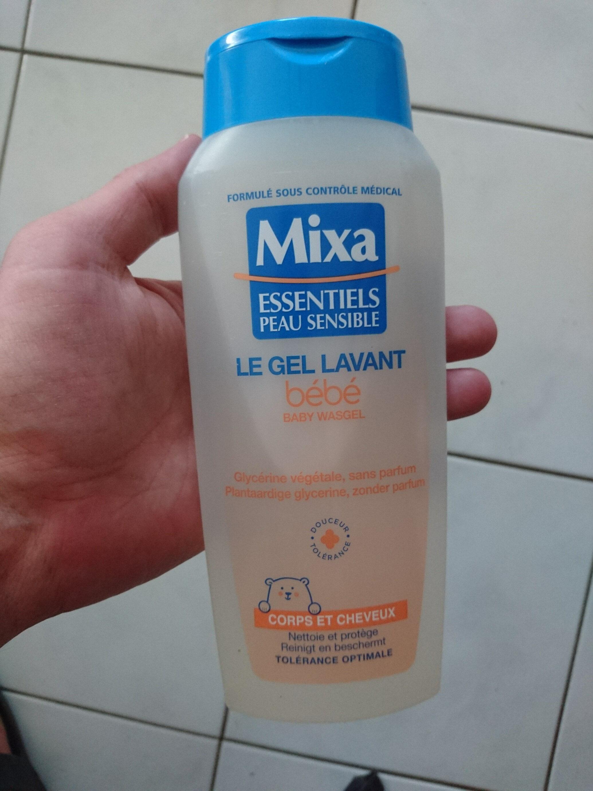 Mixa le gel lavant bébé - Product - fr