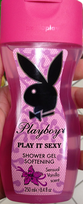 Play it sexy shower gel softening sensual vanilla scent - Produit