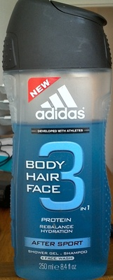 Body hair face - After sport - Produit