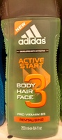Active Start Body hair face revitalising - Product - fr