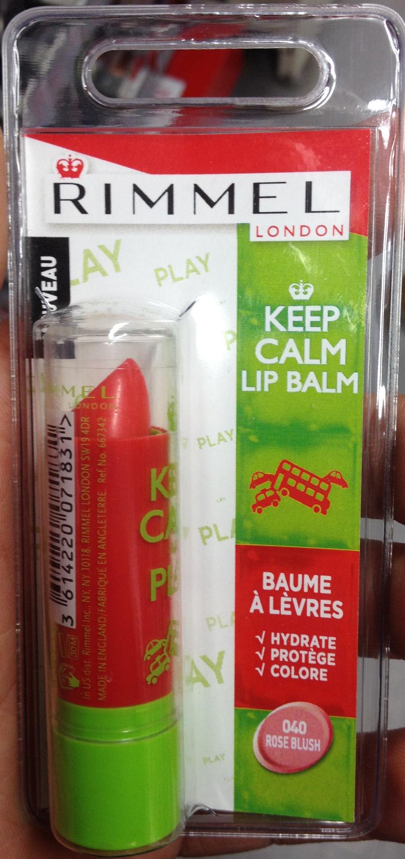 Baume à lèvres 040 rose blush - Product - fr
