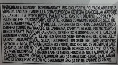 Baume à lèvres 040 rose blush - Ingredients - fr