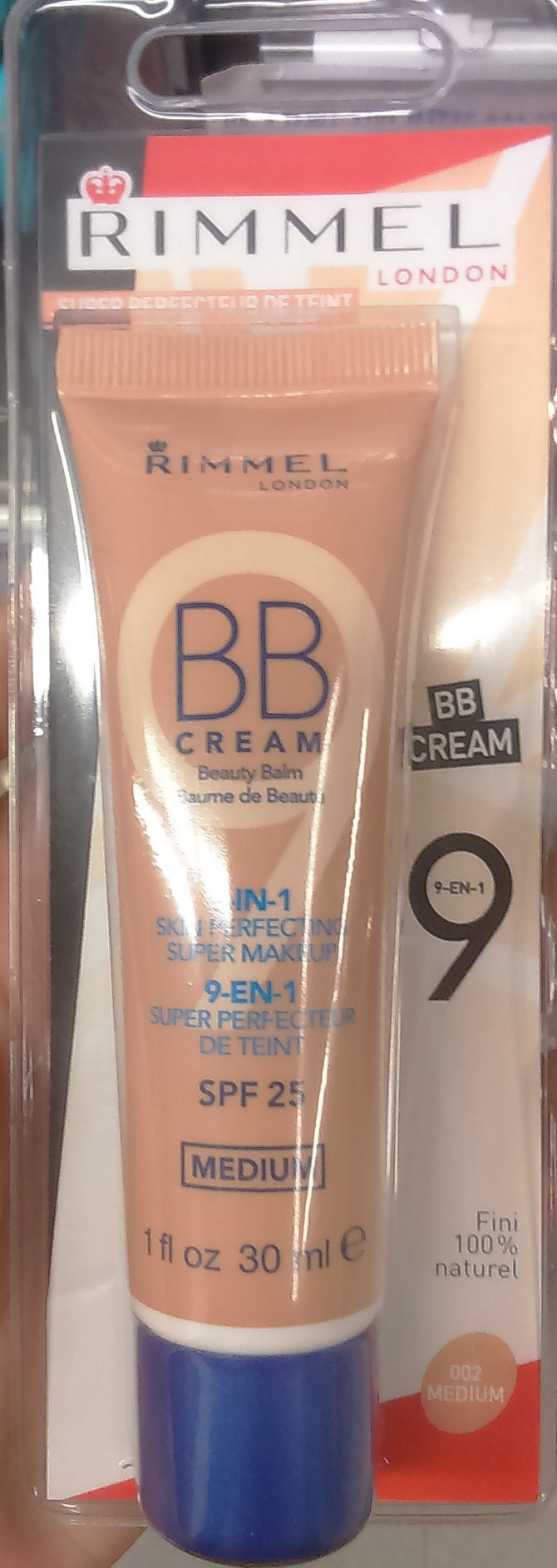 BB cream radiance 9 en 1 SPF 25 - 002 medium - Produit - fr
