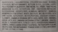 BB Cream matte - 001 claire - Ingredients
