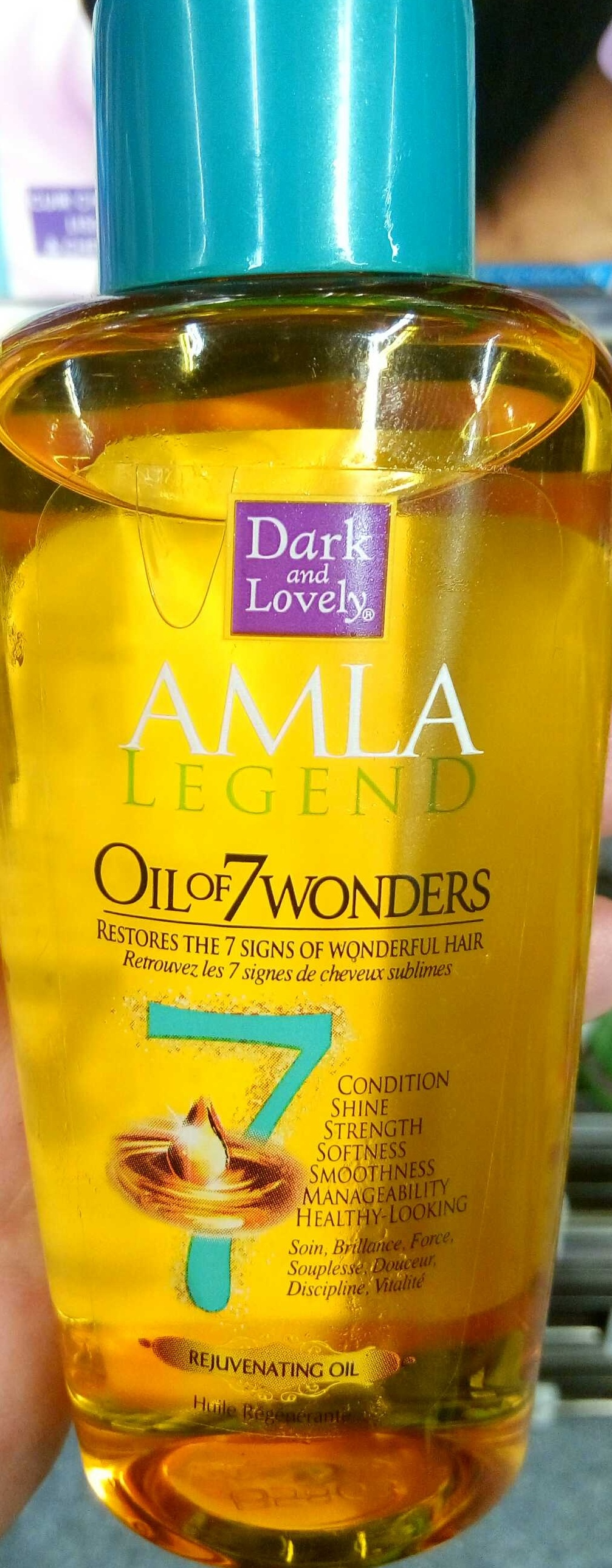 AMLA Legend Oil of 7 Wonders Rejuvenating Oil - Produit - fr