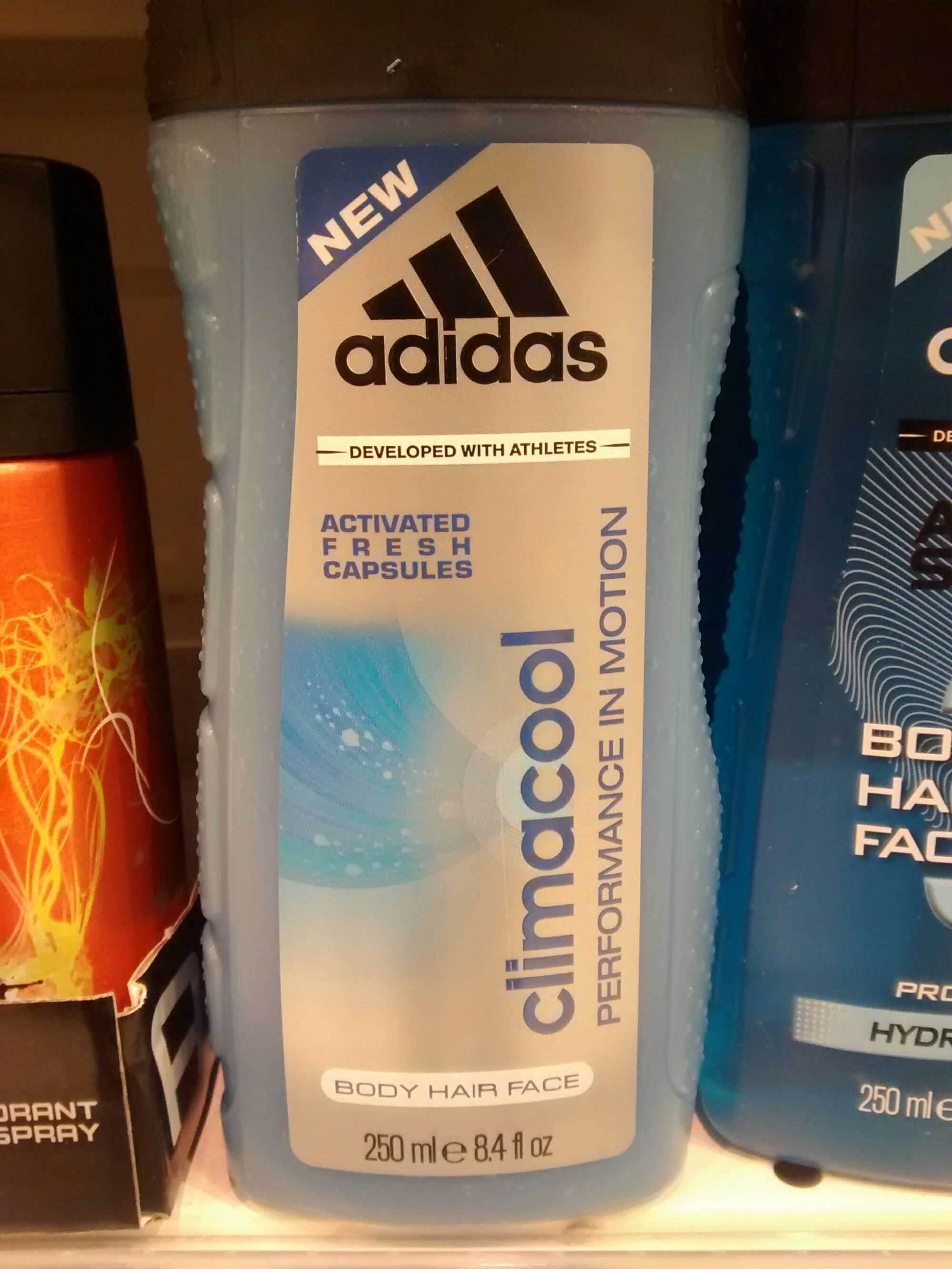 adidas body spray climacool nz