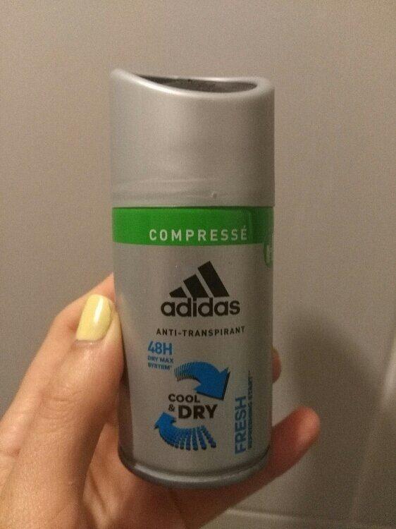 Cool & dry - Deodorant fresh compressé - Product