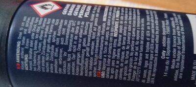 déodorant adidas - Ingredients - en