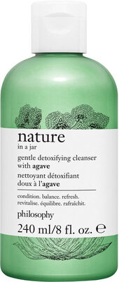 Nature In A Jar Gentle Detoxifying Cleanser With Agave - Product - en