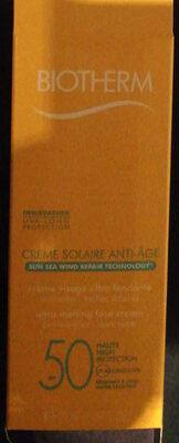 Biotherm Anti-wrinkles sun cream - Product