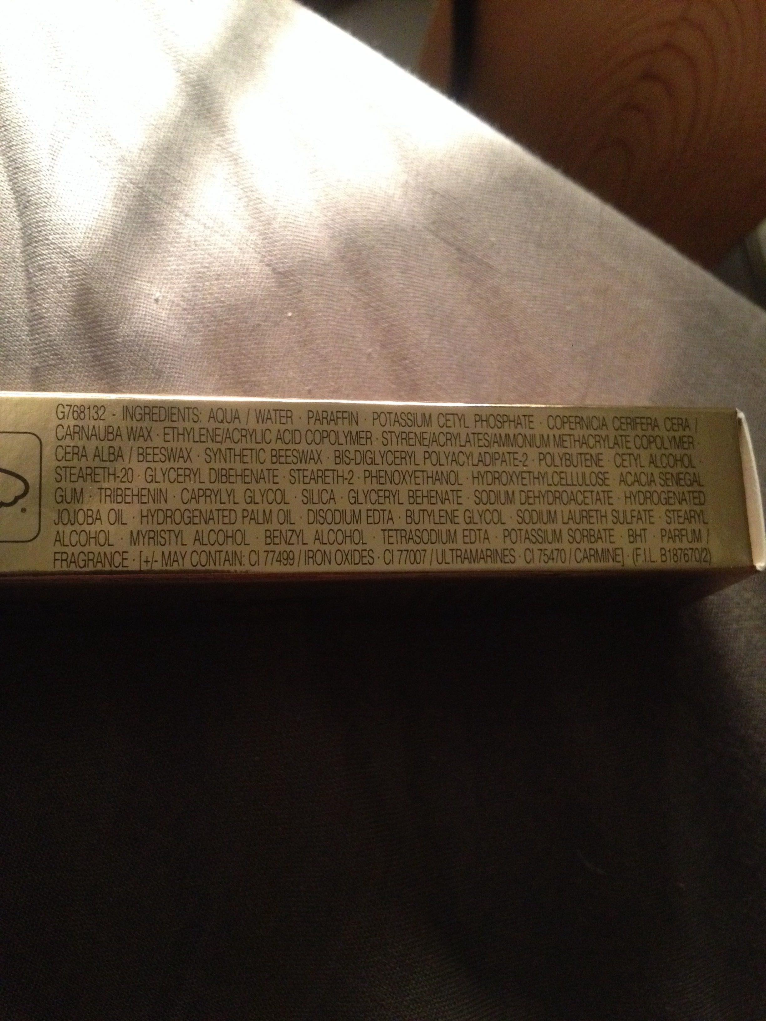 Mascara volume effet faux cils - Product - fr