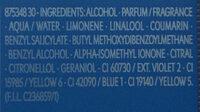 Y live - Ingredients - fr