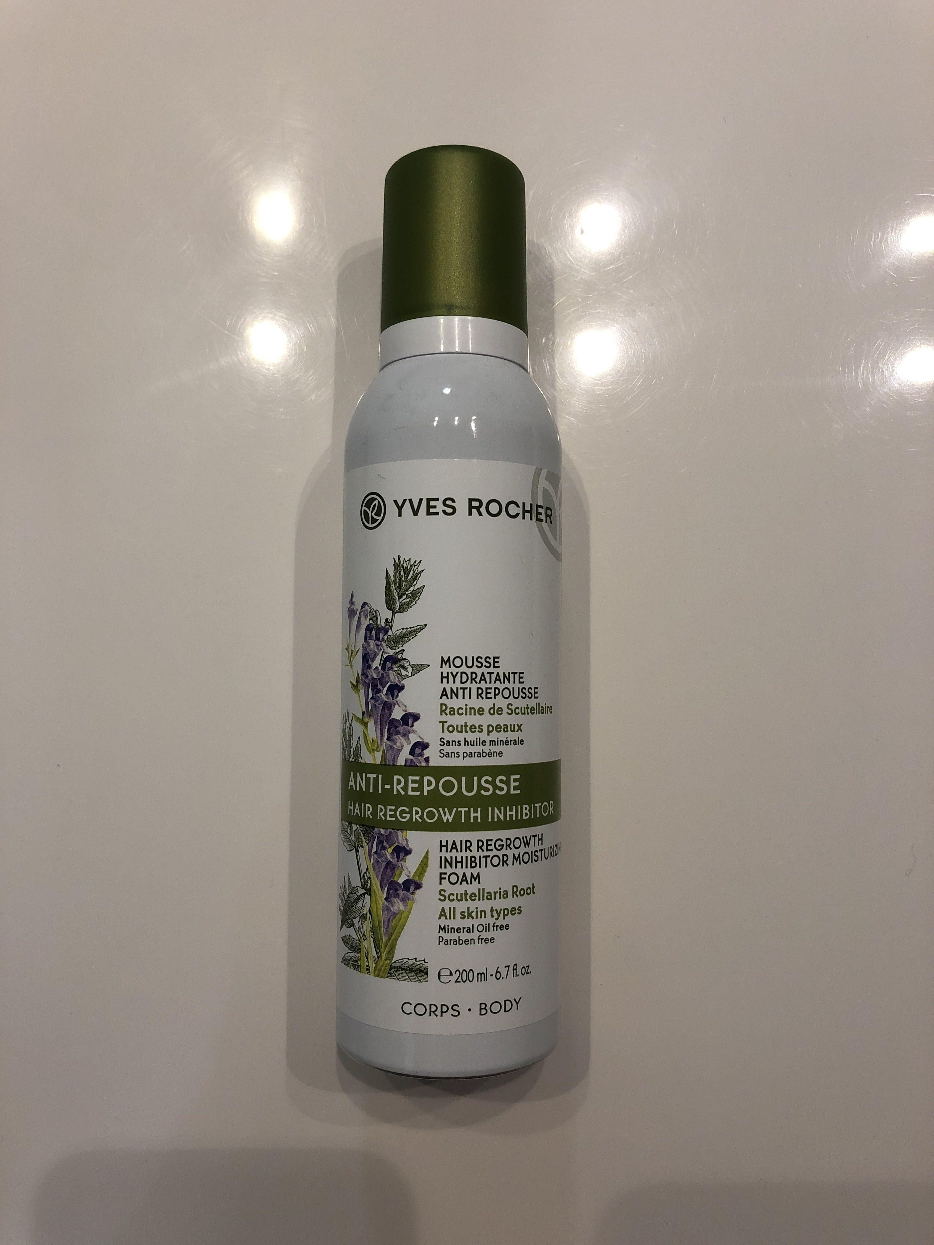 Mousse hydratante anti repousse - Produit