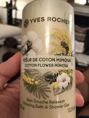 Bain douche Relaxant Fleur de Coton Mimosa - Product - fr