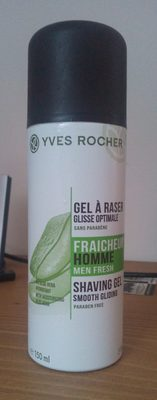 Gel à raser glisse optimale fraîcheur homme - Product - fr