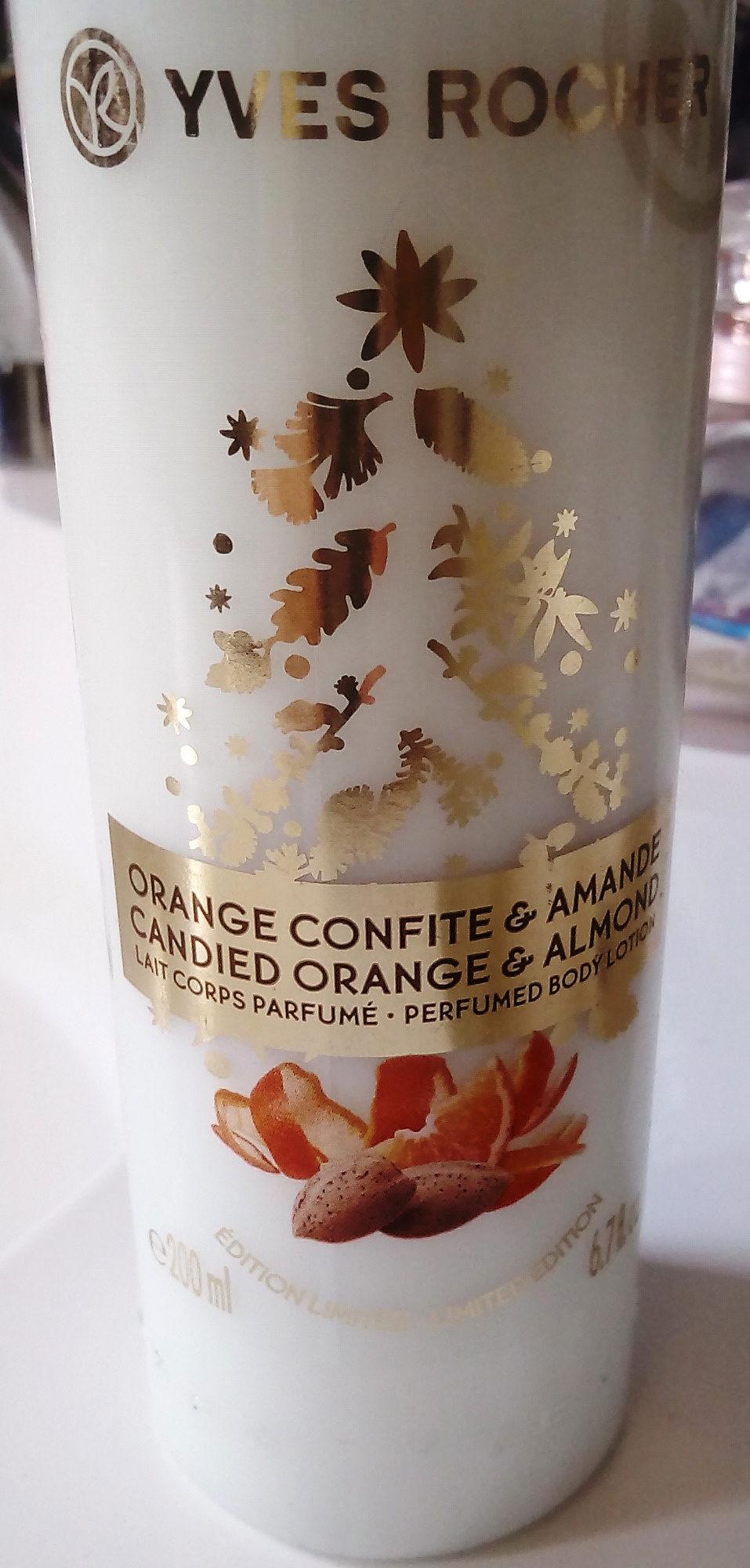 Parfumé Amande Yves 200 Lait Rocher Corps Confiteamp; Orange Ml CxsdthrQ