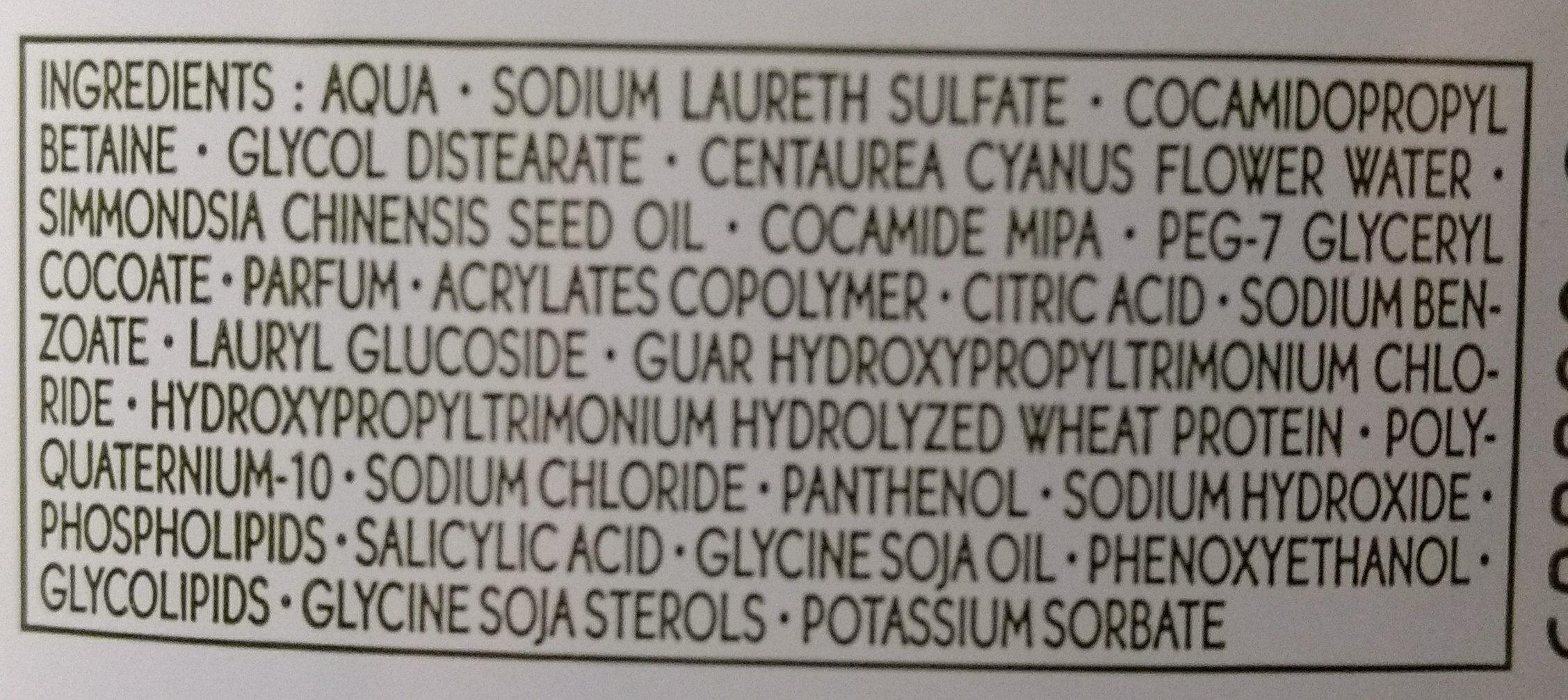 Riparazione - Shampoo Trattamento Nutri-Riparatore - Ingredients - it