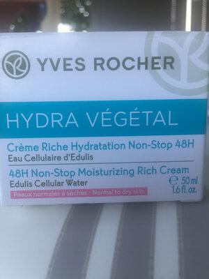 Crème hydratante végétal - Product - fr