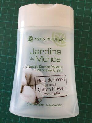 Crème douche douceur fleur de coton d'Inde - Product - fr