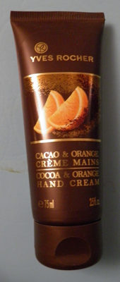Crème mains Cacao & Orange - Product