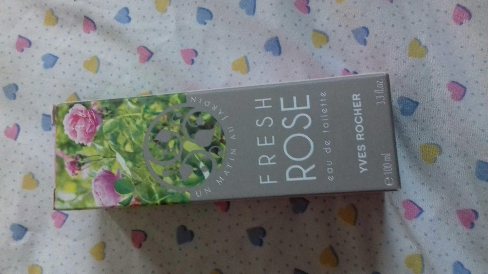 Fresh rose eau de toi - Produit