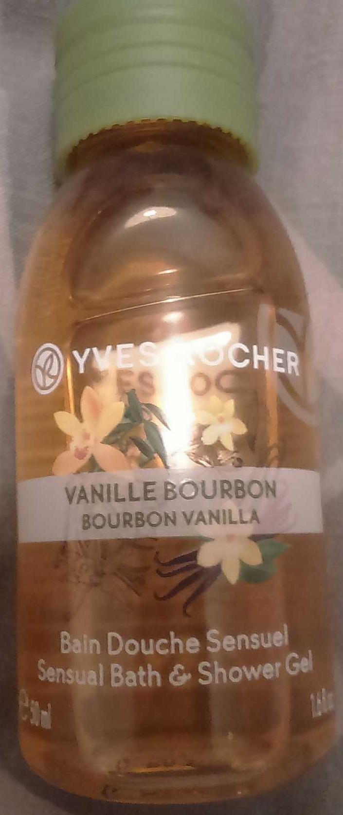 Vanille bourbon - bain douche sensuel - Product