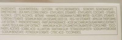 Yves Rocher Hydra Vegetal Creme Hydrating Gel Cream - Ingredients - fr