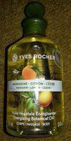 Huile végétale énergisante mandarine citron cèdre - Product - fr