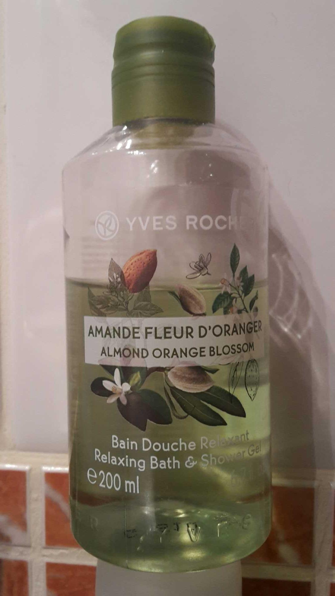 Vain douche relaxant Amande Fleur d'oranger - Product