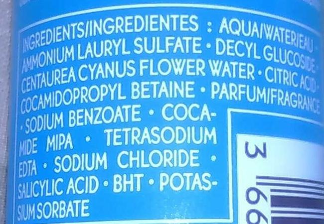 Bleu végétal - Ingredients - fr