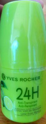 Anti-Transpirant Citron Vert du Mexique 24H - Produit - fr