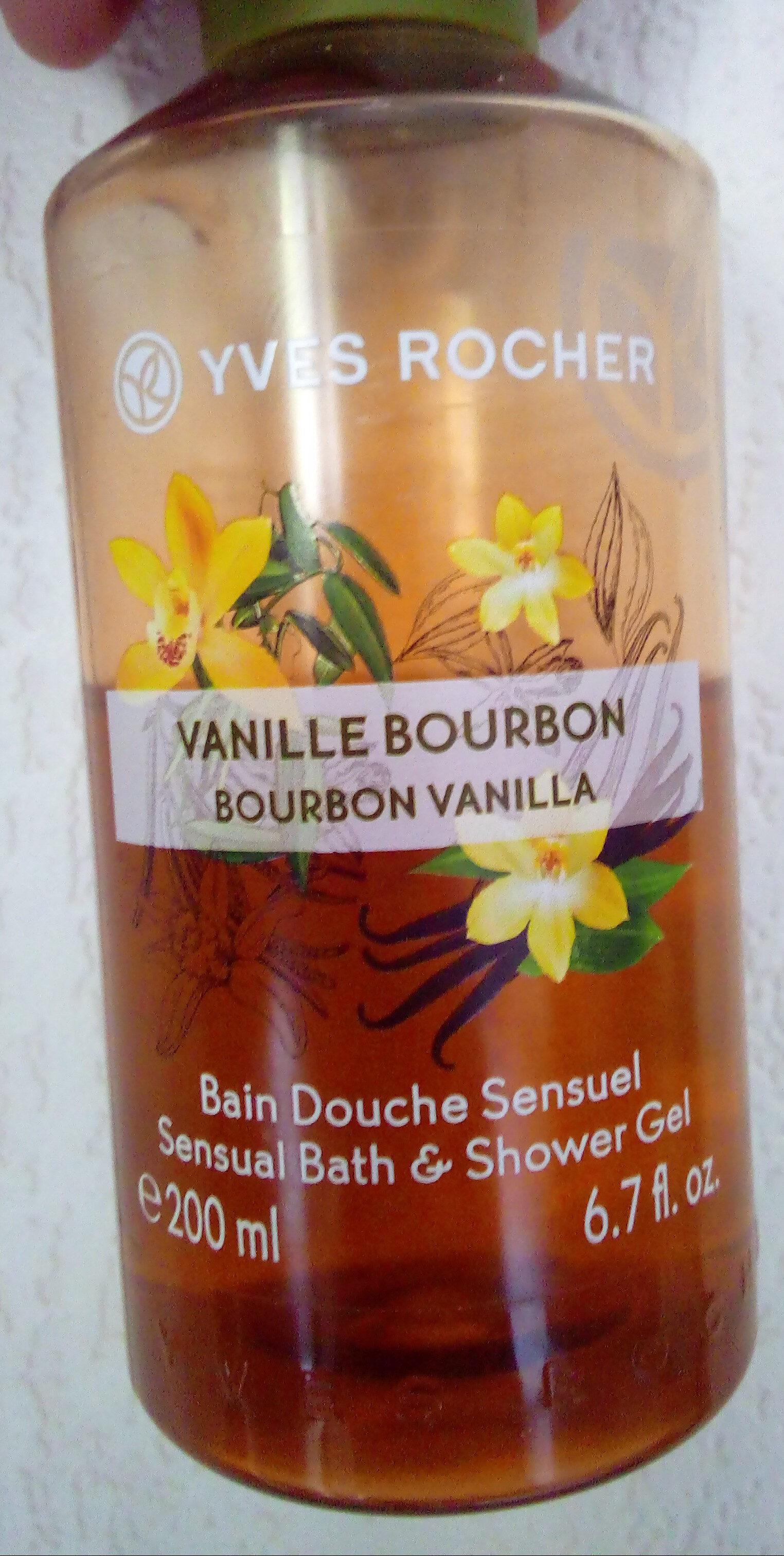 Bain douche sensuel vanille bourbon - Produit