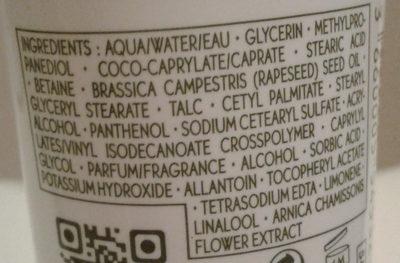Crème Mains Hydratante Longue Durée - Ingrédients