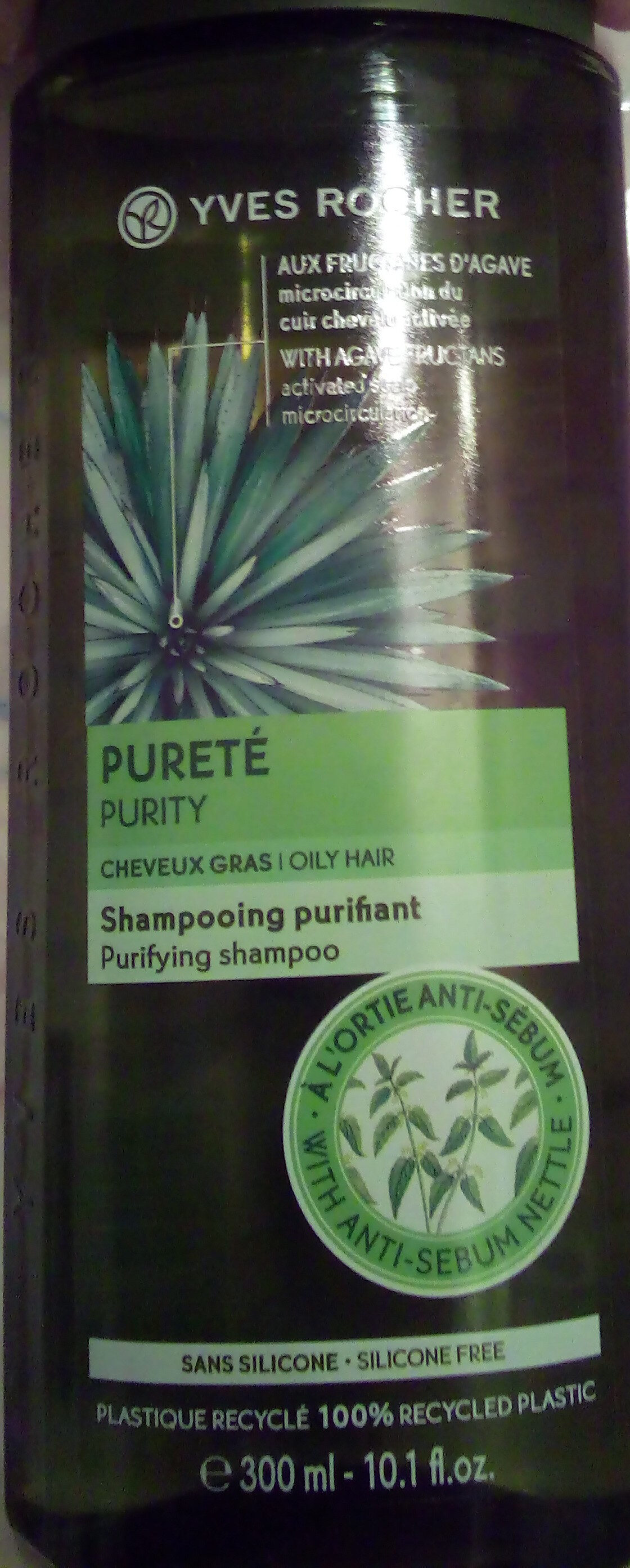 Shampooing purifiant aux fructanes d'agaves - Product
