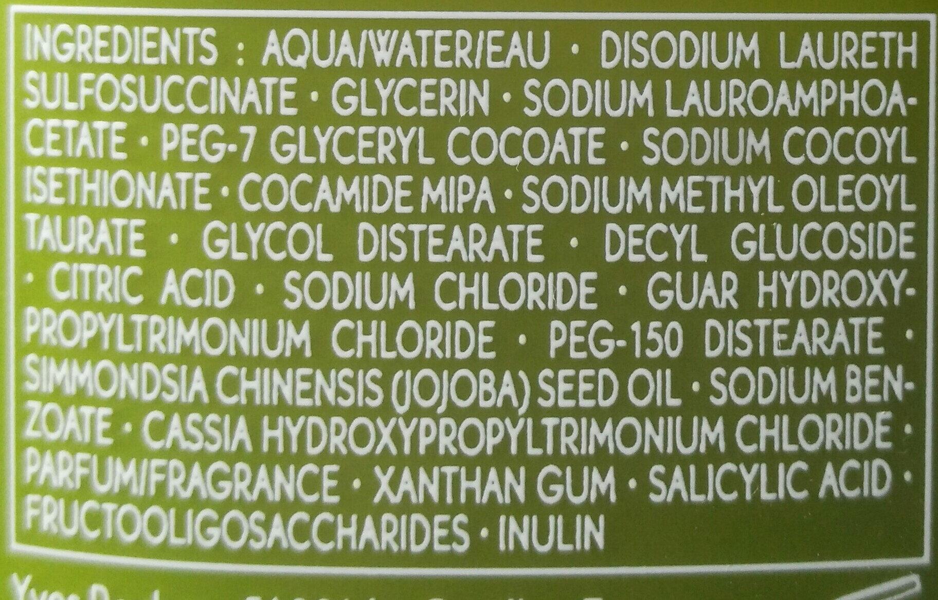 yves rocher shampoo riparazione - Ingredients - it