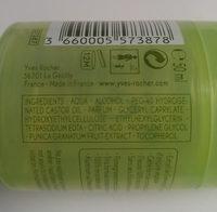 Déodorant fraicheur - Grenade d'Espagne - Ingredients - fr