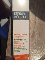 Serum végétal - Produit