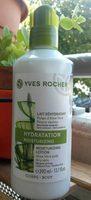 Lait réhydratant pulpe d'Aloe vera peaux sèches - Produit - fr