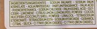 Savon exfoliant energisant - Ingredients - fr