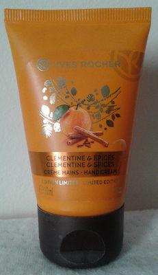 Crème mains Clémentine & Epices édition limitée - Product