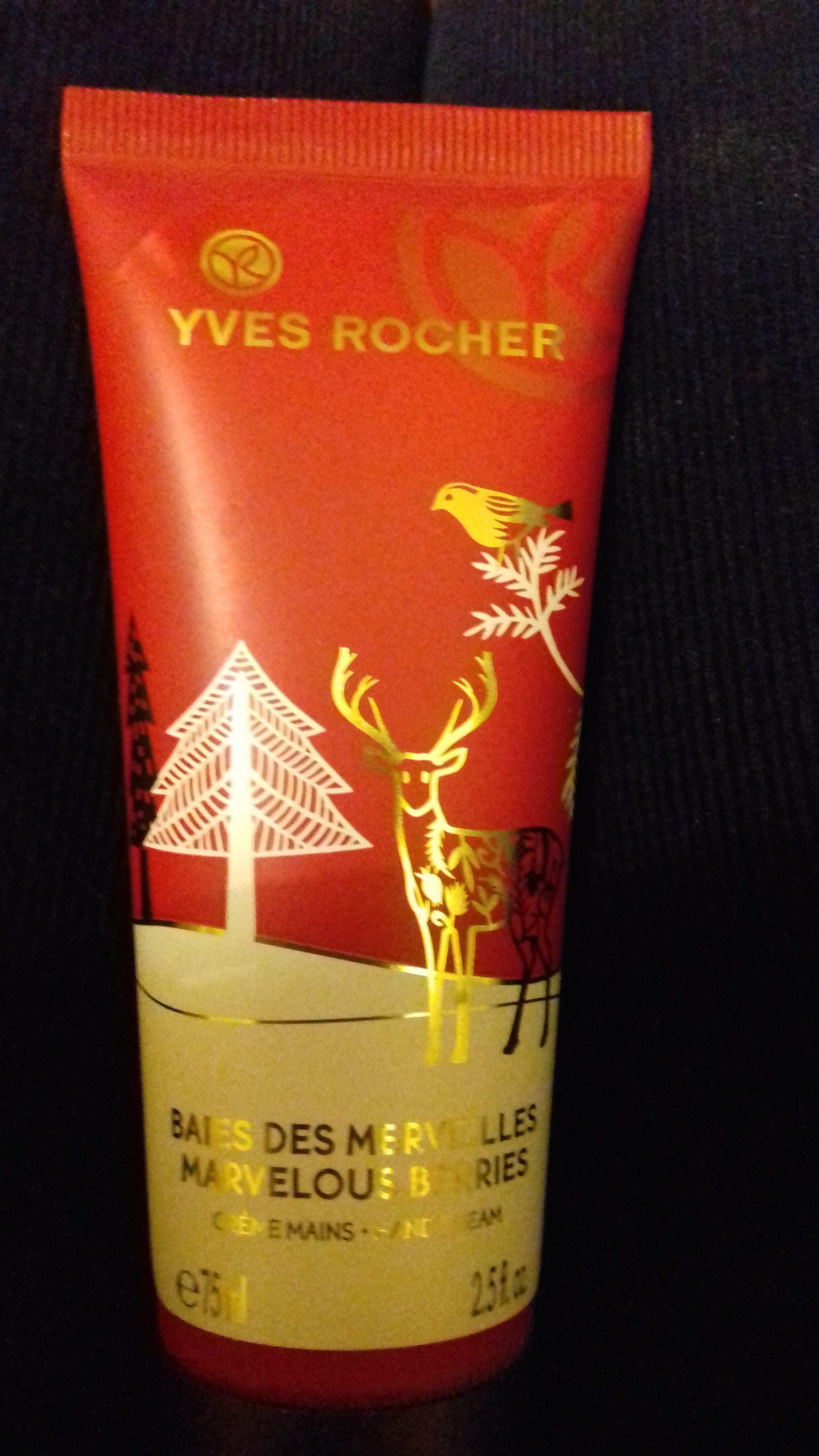 crème mains baies des merveilles - Product - fr