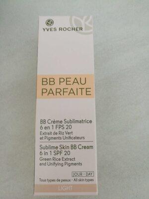 Bb peau parfaite crème sublimatrice - Produit - fr