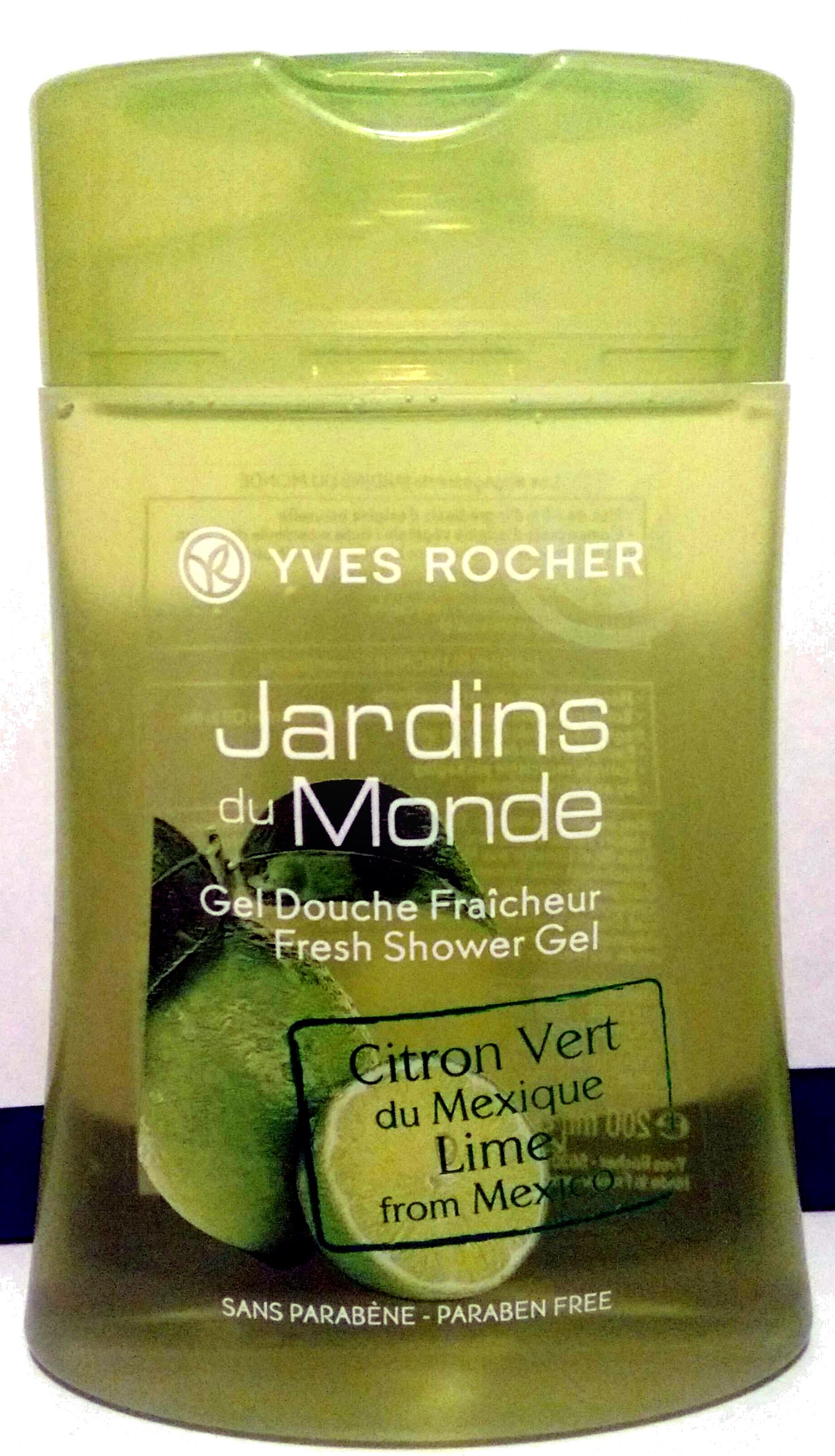 Jardins du Monde Gel douche fraicheur Citron Vert du Mexique - Product - fr
