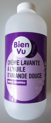 Crème lavante à l'huile d'amande douce - Product