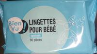 Lingettes pour bébé épaisses 80 pièces - Product