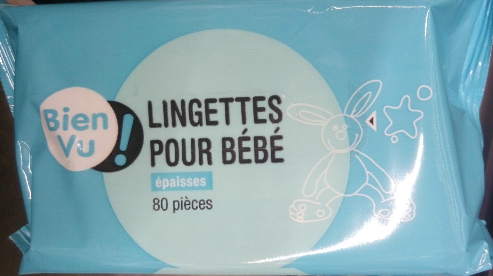 Lingettes pour bébé épaisses 80 pièces - Product - fr