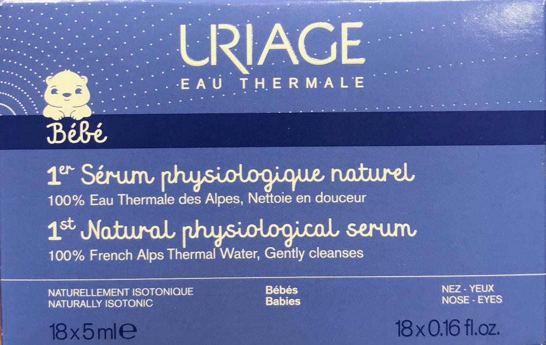 1er Sérum physiologique naturel - Product