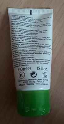 Uriage  Hyséac masque purifiant - Product - en