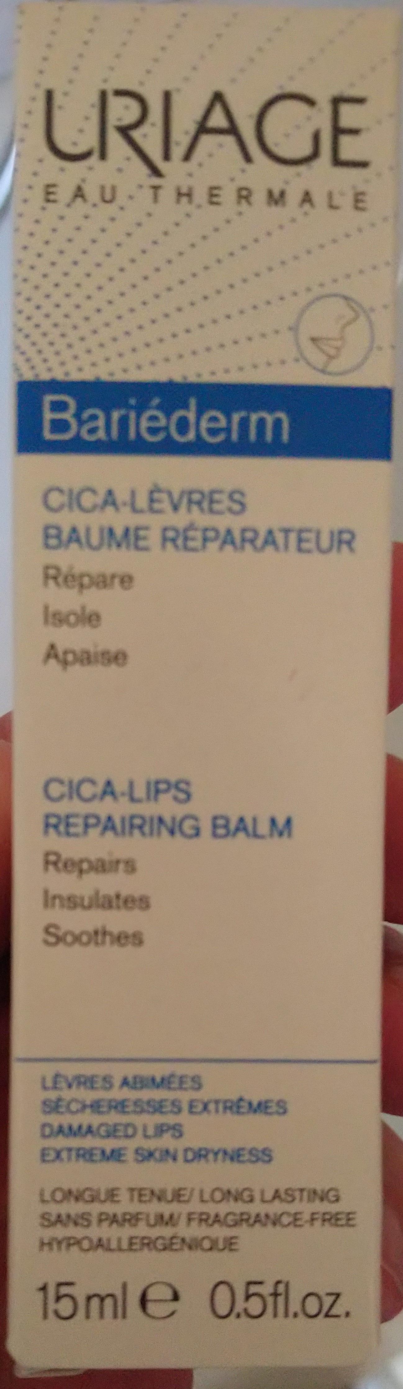 Bariéderm Cica-Lips Repairing Balm - Produit - sl