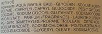Huile lavante peaux sensibles - Ingrédients